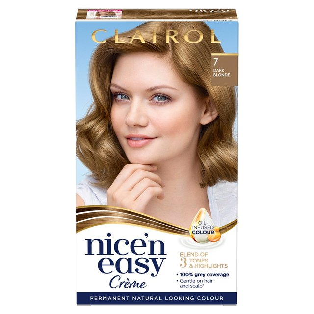 Nice 'N Easy Permanent Colour 7 Natural Dark Blonde (106A former) Hair Dye