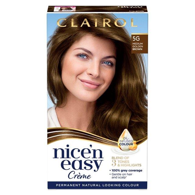 Nice N Easy Permanent Colour 117 Natural Medium Goldenbrown Hair Dye