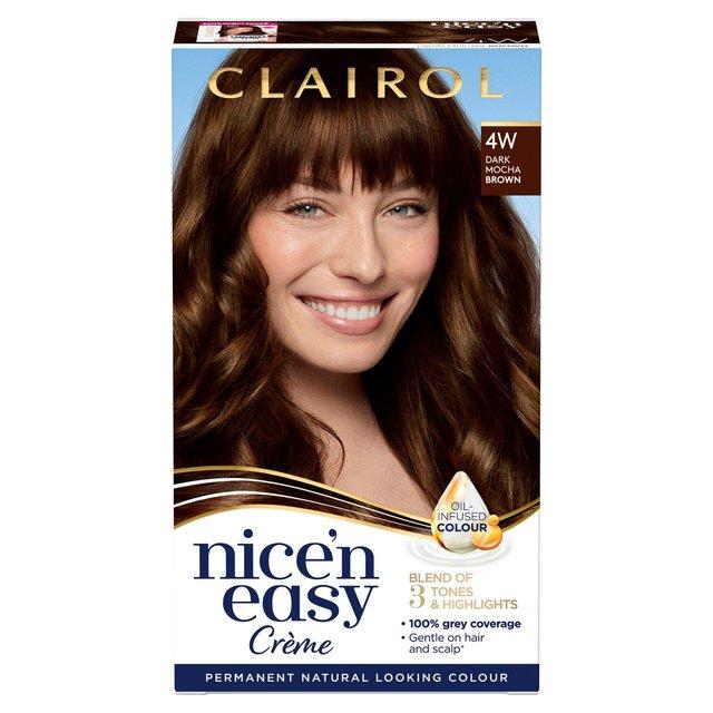 Nice 'N Easy Permanent Colour 4W Natural Dark Caramel Brown (120B) Hair Dye