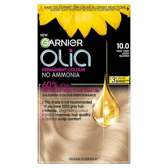 Morrisons Garnier Olia Hair Colourant 10 Very Light Blond