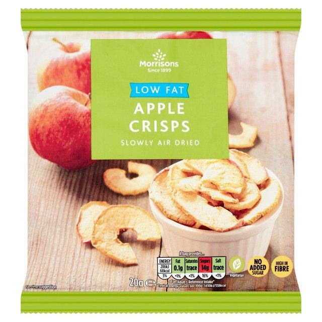 morrisons morrisons eat smart apple crisps 20g product information. Black Bedroom Furniture Sets. Home Design Ideas