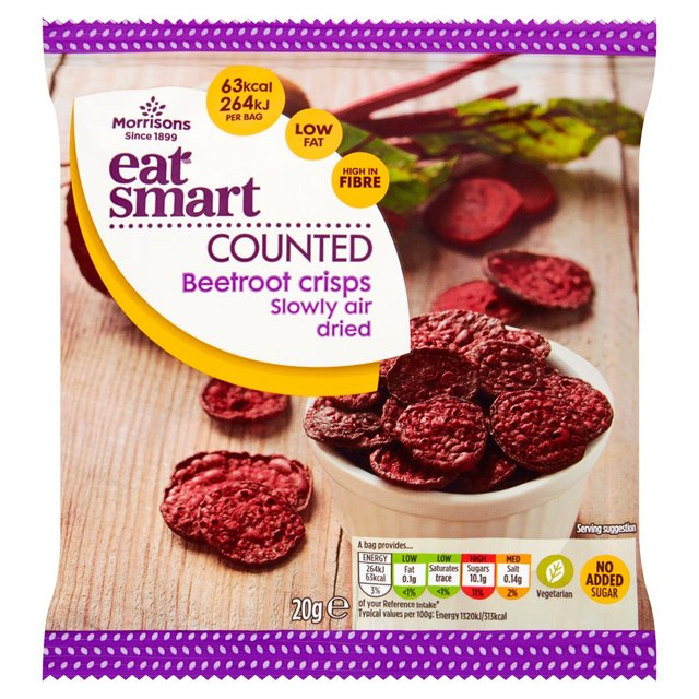 Morrisons Eat Smart Beetroot Crisps