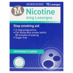 Morrisons Nicotine Replacement Lozenges 4Mg