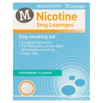 Morrisons Nicotine Replacement Lozenges 2Mg