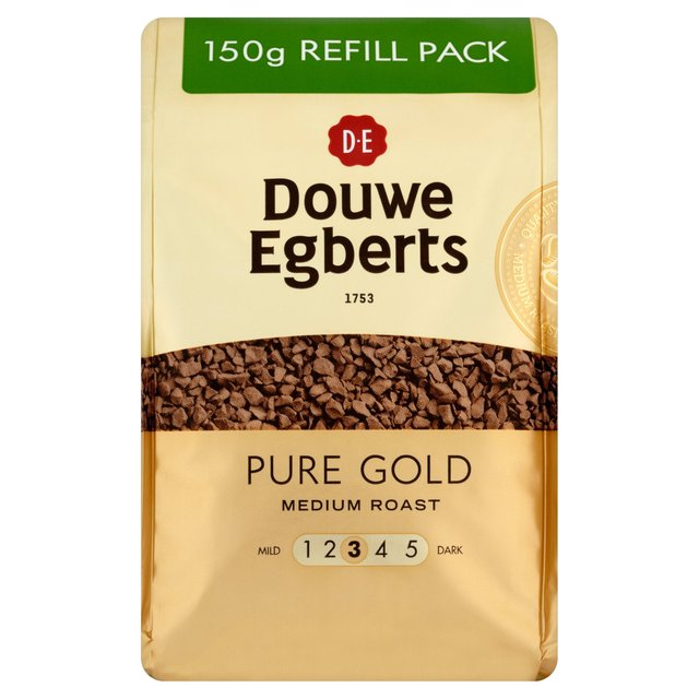 Morrisons Douwe Egberts Pure Gold Instant Coffee Refill
