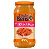 Uncle Bens Tikka Masala Curry Sauce