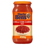 Uncle Bens Hot Chilli Con Carne Sauce