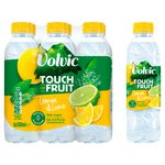 Volvic Touch of Fruit Lemon & Lime Natural Flavoured Water