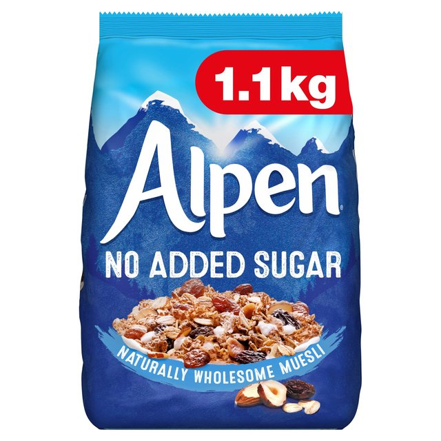 Alpen Cereal No Added Sugar Muesli