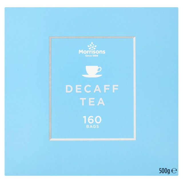 Morrisons Decaffeinated Tea Bags 160's