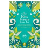 Morrisons Hint of Mint Green Tea