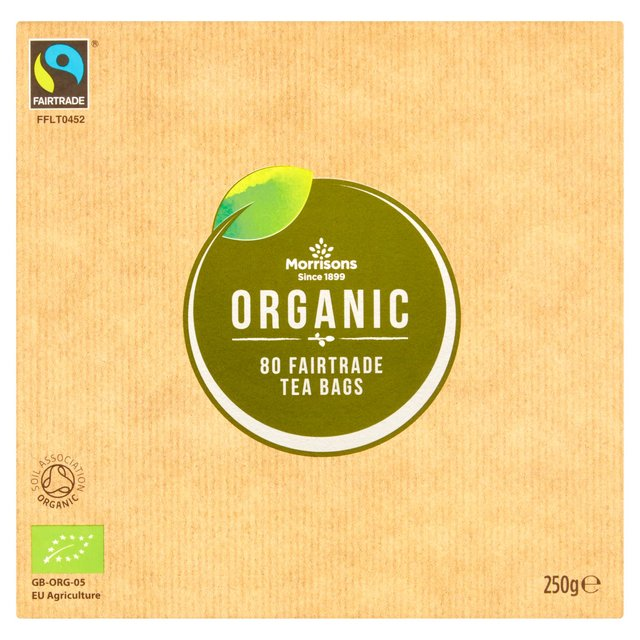 M Organic Fairtrade Tea Bags 80 S 250g