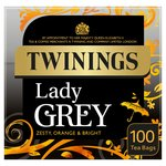 Twinings Lady Grey Tea Bags 100s