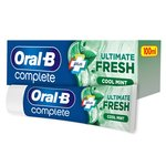 Oral-B Complete Extra Fresh with Mouthwash Toothpaste