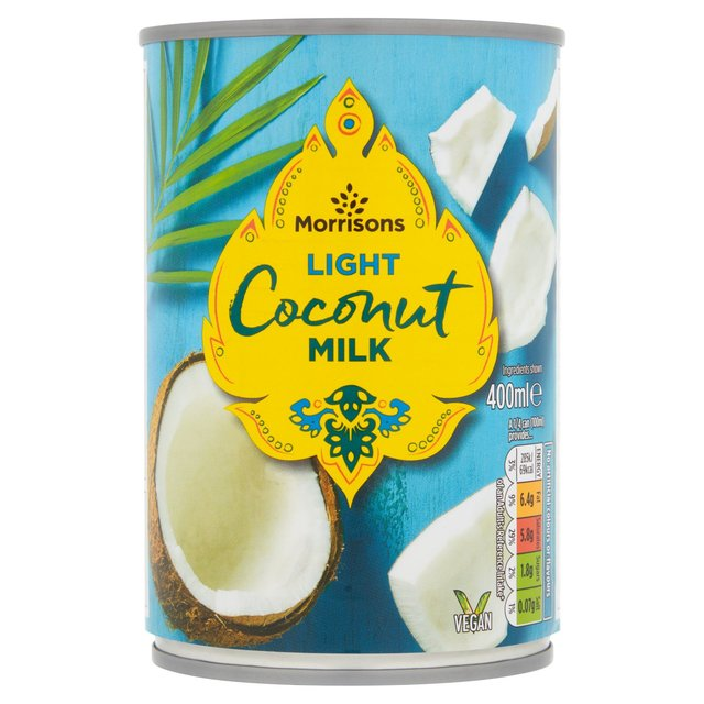 Morrisons Canned Reduced Fat Coconut Milk