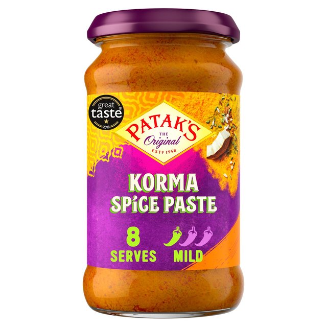 Morrisons Pataks Korma Spice Paste 290gproduct Information
