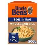 Uncle Ben's Wholegrain Boil in Bag Rice