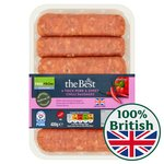 Morrisons The Best Thick Pork And Sweet Chilli Sausages