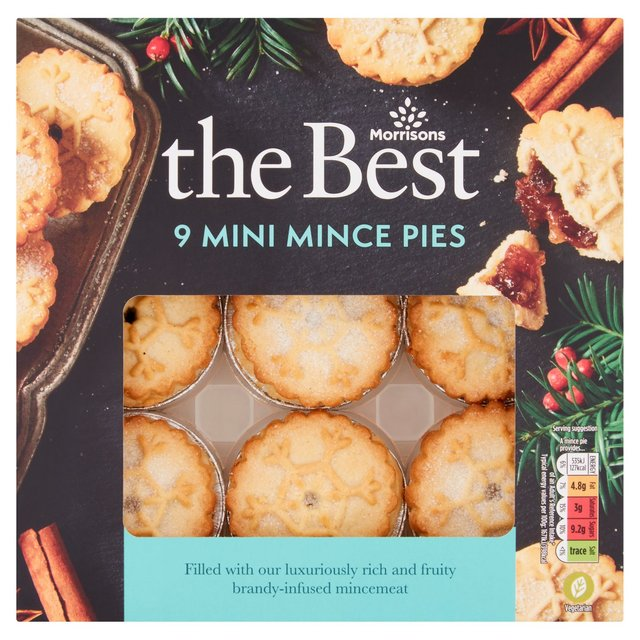 Morrisons The Best Mini Mince Pies