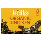 Kallo Organic Chicken Stock Cubes 8s