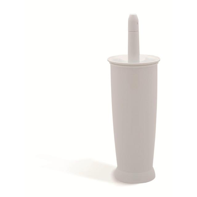 Addis Closed Toilet Brush Set, White