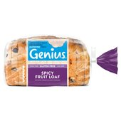 Genius Sliced Spicy Fruit Loaf