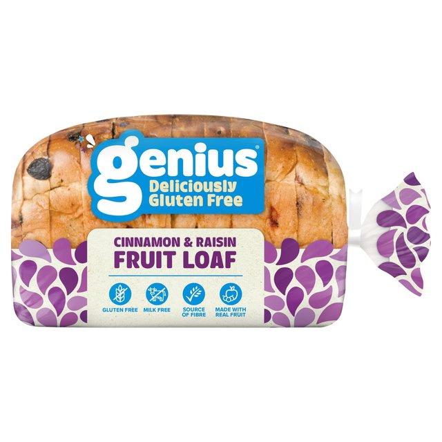 Genius Sliced Spicy Fruit Loaf