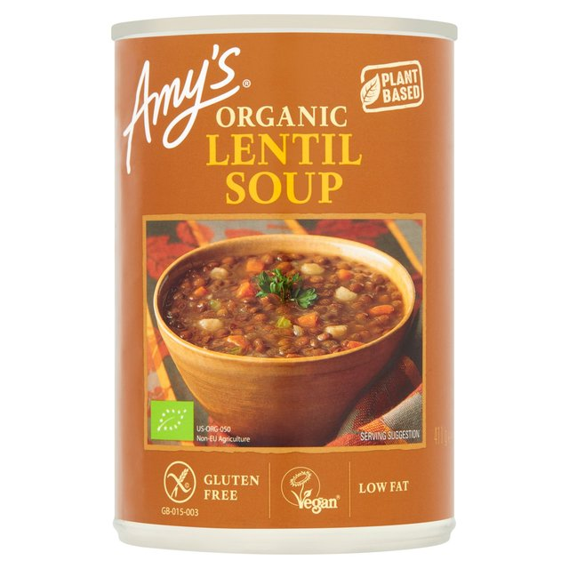 Morrisons: Amy\'s Kitchen Organic Lentil Soup 400g(Product Information)