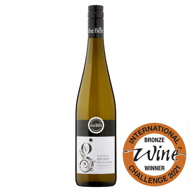 Morrisons The Best Gruner Veltliner 2015, Austria