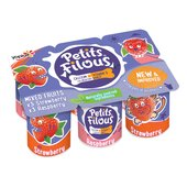 Petits Filous Fromage Frais Strawberry & Raspberry