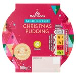 Morrisons Nut & Alcohol Free Christmas Pudding