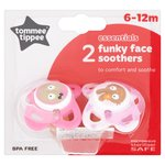 Tommee Tippee Funky Face Soothers