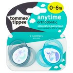 Tommee Tippee Closer To Nature 0-6 Mths Anytime Soothers