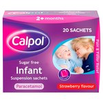 Calpol Infant Sugar Free Satchets
