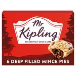 Mr Kipling Deep Filled Mince Pies