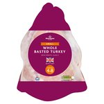 Morrisons Frozen Basted Whole Turkey