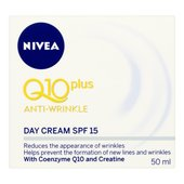 NIVEA Q10 Plus Anti-Wrinkle Day Cream SPF 15 50ml at Morrisons