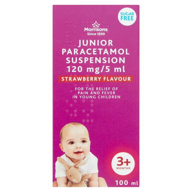 Morrisons Junior Paracetamol Suspension