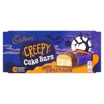 Cadbury Cinder Toffee Creepy Cake Bars