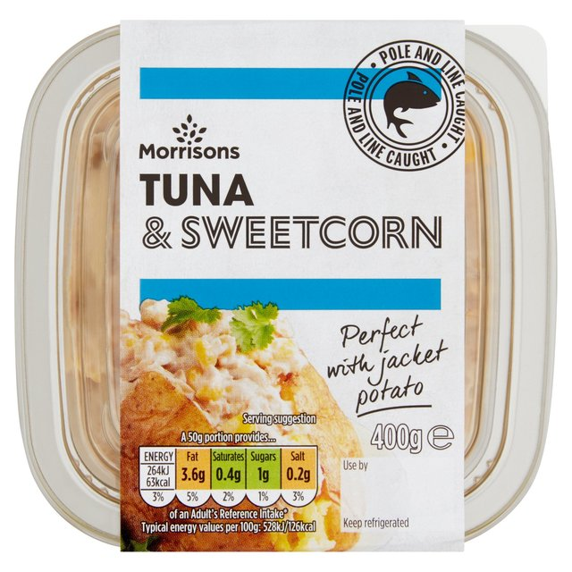 Morrison Tuna &  Sweetcorn