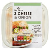 Morrisons 3 Cheese & Onion Sandwich Filler