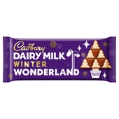 Cadbury Dairy Milk Chocolate Winter Wonderland Bar