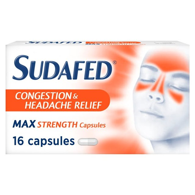 Sudafed Headcold Max Strength
