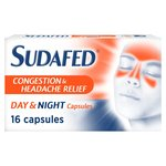 Sudafed Headcold Day & Night