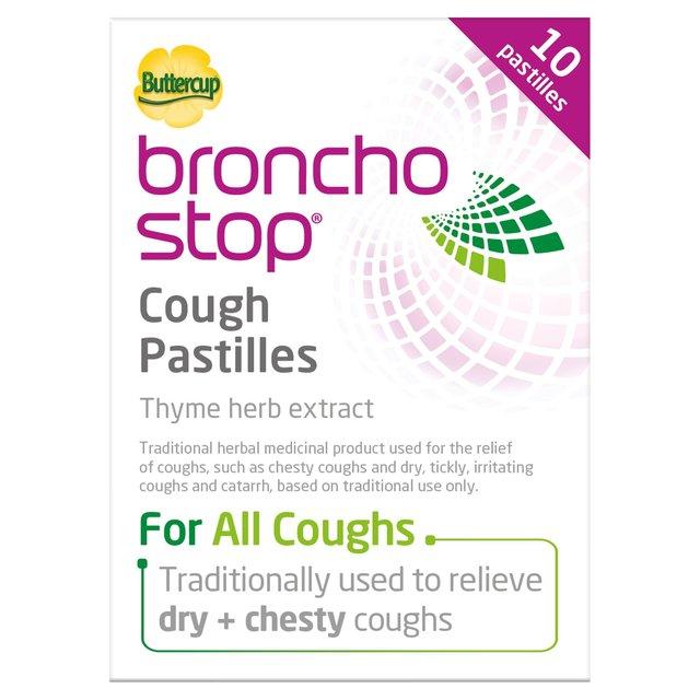 Buttercup Bronchostop Cough Pastilles