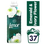 Lenor Emerald & Ivory Flower Fabric Conditioner 37 washes