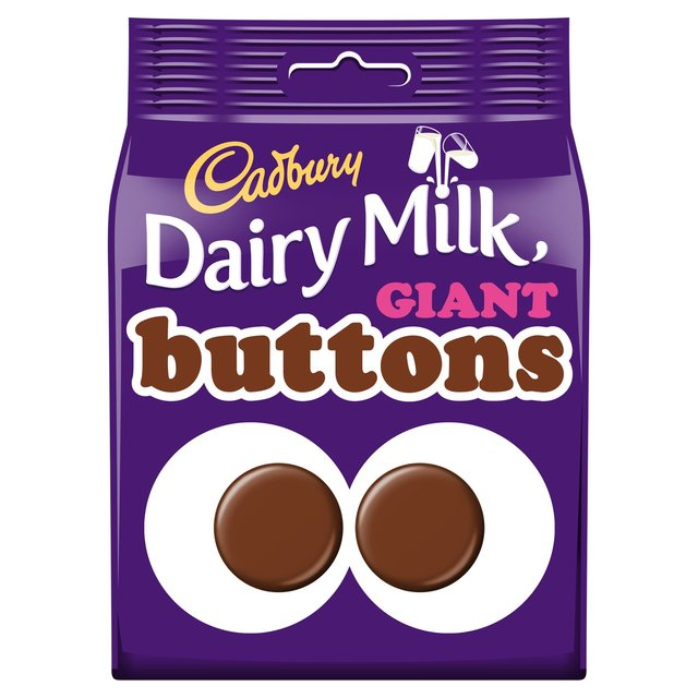 Cadbury Dairy Milk Giant Buttons Chocolate Bag