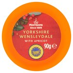 Morrisons Yorkshire Wensleydale with Apricot Truckle