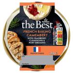 Morrisons Baking Camembert with Cranberry, Port & Orange