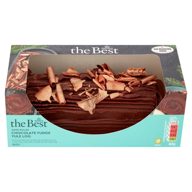 Morrisons Morrisons The Best Chocolate Fudge Yule Log